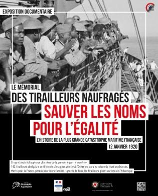 J:\Presse\Interne\1 - Communiqués de presse\CULTURE\3-EXPO\2017\Tirailleurs naufragés - 120118 Bordeaux\Affiche Expo 12 janvier.jpg