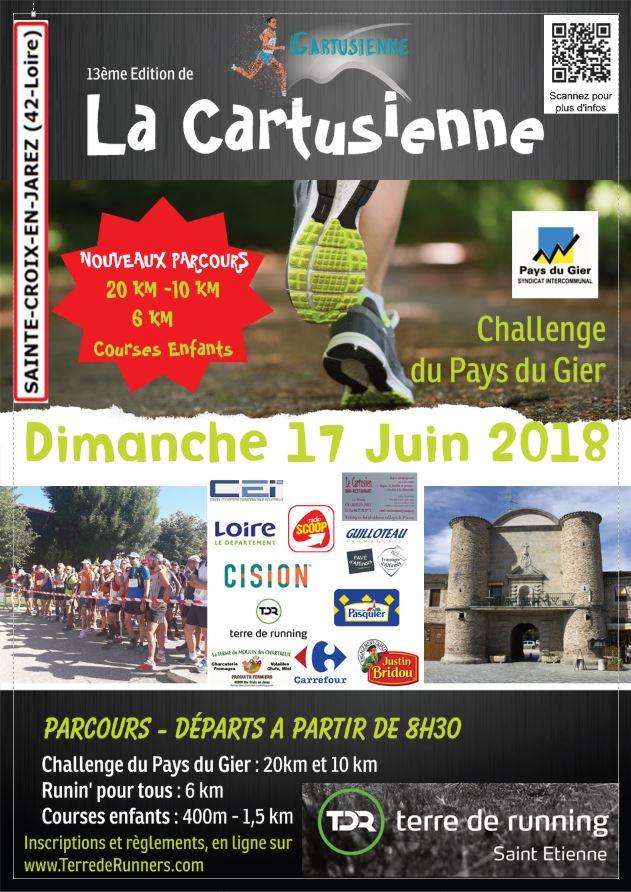 13ème édition de La Cartusienne  Dimanche 17 Juin 2018 Nouveauflyers2018