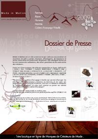 UneModeinMotion2-200 BILL TORNADEdévoile sa collection Homme Printemps/Eté 2009  sur Mode In Motion.com