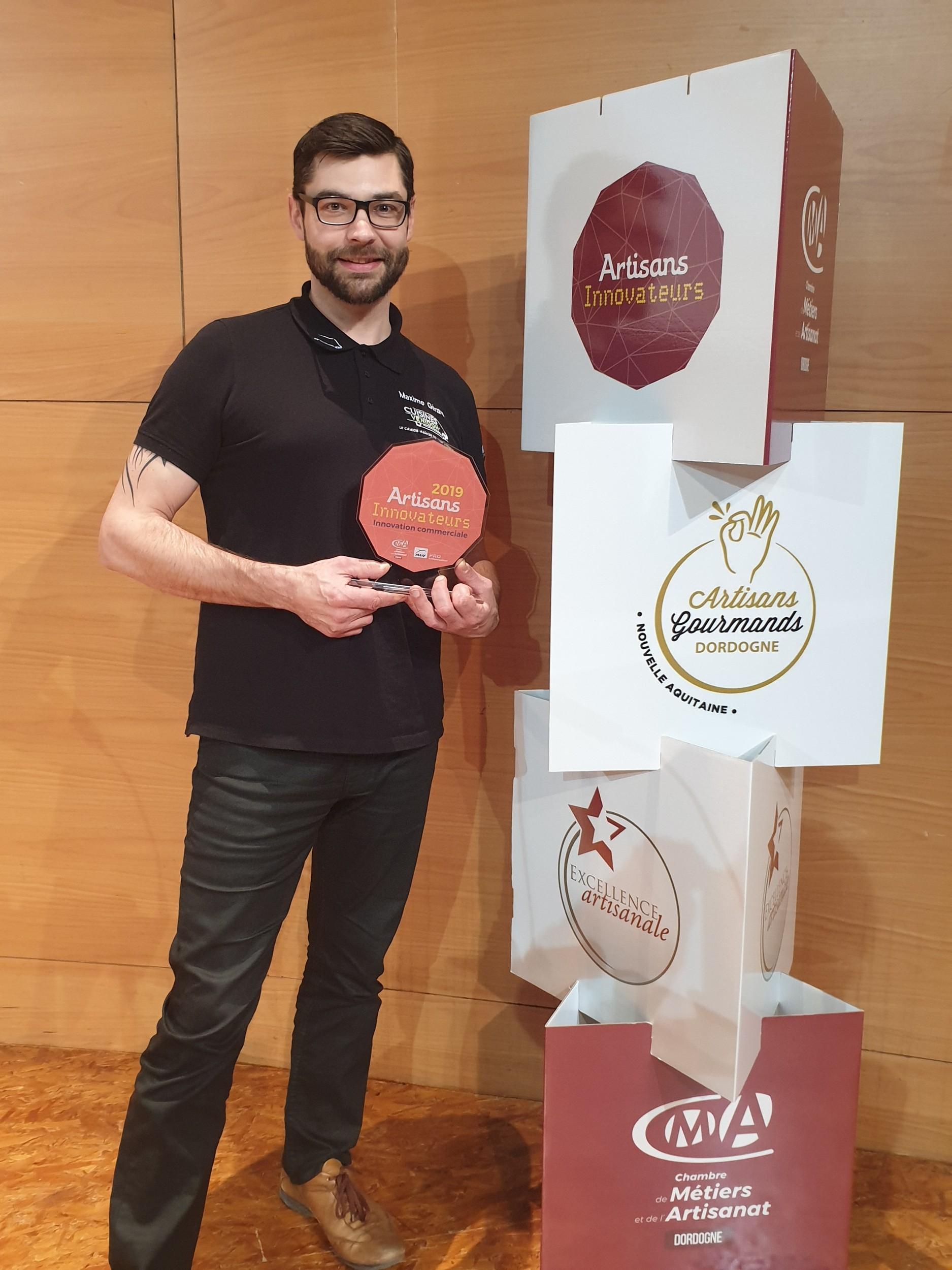 La franchise Cuisines Venidom remporte le trophée Artisans Innovateurs Dordogne